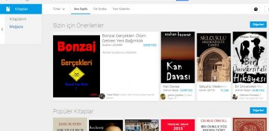 Photo of Google Play Store Kitaplar Menüsü